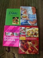 Szakács könyvek