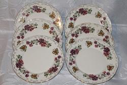 ÚJ Zsolnay jubileumi pillangós tányérok