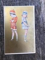 Antik képeslap, 1922