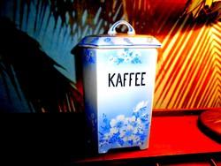 Antik nagyobb méretű konyhai kávé tartó