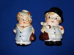 Szinte antik Goebel porcelán só-borsszóró figurapár a képek szerint