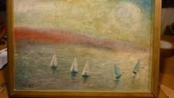 Ismeretlen olaj festmény