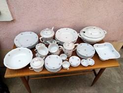 Zsolnay porcelán étkészlet - hiányos