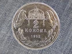 Ferenc József (1848-1916) .835 ezüst 2 Korona 1912 KB / id 22326/