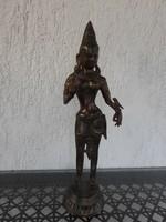 Zöld Tara Istennő _Bronz szobor
