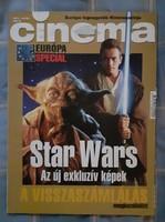 Cinema 1999/4 Star Wars exkluzív képekkel, cikkel 12 oldalon keresztül
