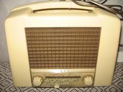 Antik    ,  csöves    rádió     Ekco    159 U       NBr. 1950 .
