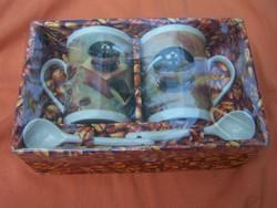 Tête à tête kávézó készlet eredeti dobozában