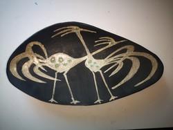 Gorka Lívia Falitál két madárral 44,5 cm