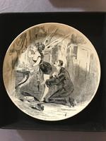 Creil Montereau francia  korai jelenetes sorozatból a 7 -es kép  jelzett.