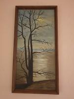 Fogarasi Márta gyönyörű balatoni festménye