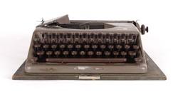 1A595 Régi mechanikus OPTIMA írógép dekorációnak