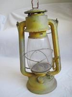Régi Meva petróleum lámpa nagyméretű viharlámpa