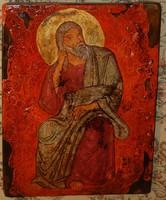 Illés próféta - fára festett ikon