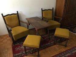Koloniál komplett nappali bútor, szobabútor