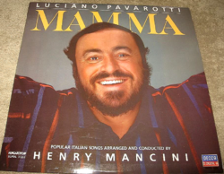 MINTAPÉLDÁNY  LUCIANO PAVAROTTI : MAMMA  magyar 1984 bakelit lemez