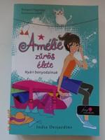 India Desjardins: Amélie zűrös élete - Nyári bonyodalmak  - Bíbor pöttyös könyvek