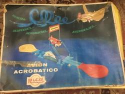Ricó Avion Acrobatico Elemes spanyol játék az 1980-as évekből