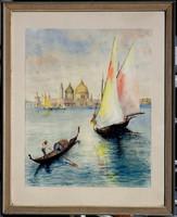 Ismeretlen festő: Velence