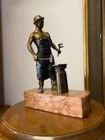 Antik bronz szobor