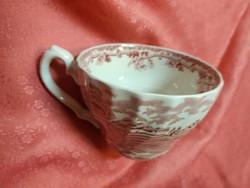 Jelenetes angol porcelán csésze pótlásnak!
