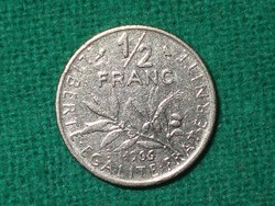 1/2  Franc / Frank - 1966