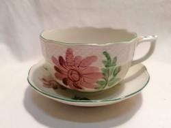 Herendi porcelán alj + csésze