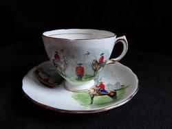 Royal Vale - angol teás/hosszú kávés szett (kanadai lovasrendőrség)