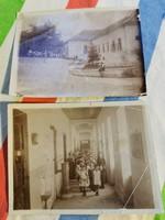 Belgrádi főkormányzosag iskolalátogatás... felirattal, aláírással.. 1917?