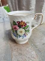 Meseszép angol porcelán pohár