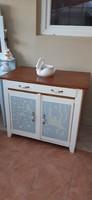 Tálaló szekrény, Country stílusú tálaló, konyhaszekrény, konyhasziget