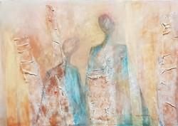 Paál Zsuzsanna - Pár 50 x 70 cm olaj, vászon