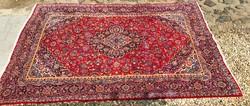 Nagyméretű Kashan kézicsomózású szőnyeg