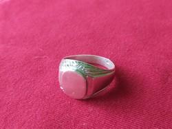 Ezüst  pecset gyűrű