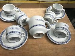 Utasellátó Alföldi porcelán készlet + tejkiöntö
