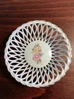 Apulum virágmintás gyűrűtartó, kis kosár