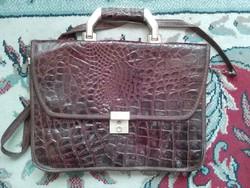 Krokodilbőr táska eredeti