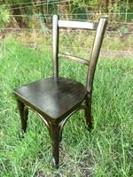 Teljesen felújított antik, ritka mini gyermek Thonet szék