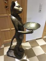 Sárgaréz Macska szobor