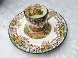 Copeland kávés csésze +  süteményes tányér