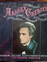 Hibátlan bakelit 2 db eredeti dobozában Újszerű Giordano . Andre Cherier