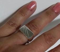 Ezüst pecsétgyűrű,uniszex