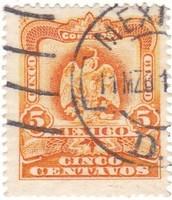 Mexikó forgalmi bélyeg 1903