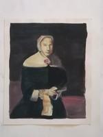 Ismeretlen: Női portré