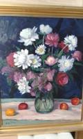Klasszikusan szépet szeretne? : Bak Péter (1950-  ) : Virágcsendélet