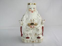 Japán porcelán szerencsehozó figura
