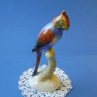 Bodrogkeresztúri kerámia papagáj