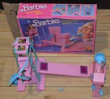 Barbie vintage fitnesz center 1984