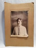 1920 Kerpit K. Budapest fényképész női portré fotó