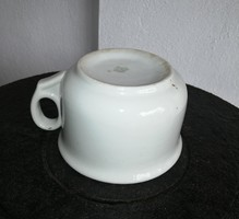 Gyönyörű Fehér Zsolnay Komabögre, komacsésze, Régiség, porcelán. Nosztalgia